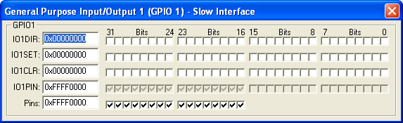 GPIO1 Slow Interface (16-bit)