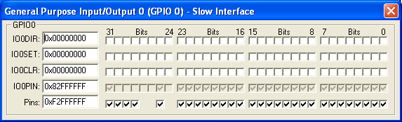 GPIO0 Slow Interface (29-bit)