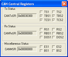 CAN Central Registers
