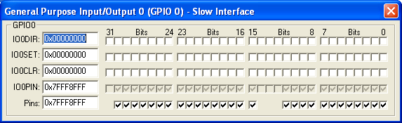 GPIO0 Slow Interface (28-bit)