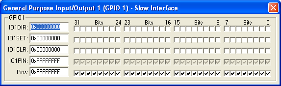 GPIO1 Slow Interface (32-bit)