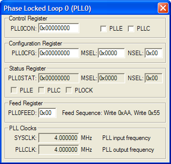Phase Locked Loop 0 (PLL0)