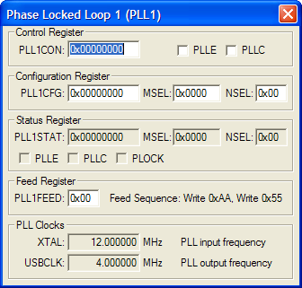 Phase Locked Loop 1 (PLL1)