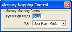 Memory Mapping Control