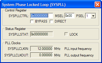 System Phase Locked Loop
