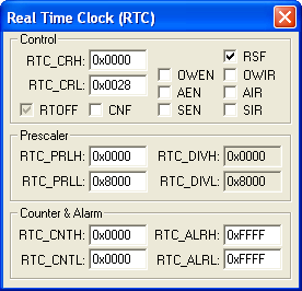Real-Time Clock (RTC)