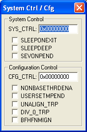 System Control and Configuration