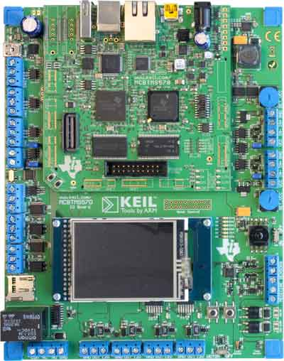 MCBtms570 Evaluation Board