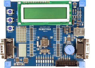 MCBSTM32 Evaluation Board