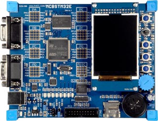 MCBSTM32EXL Evaluation Board