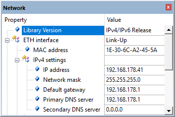 Troubleshooting a Network Application