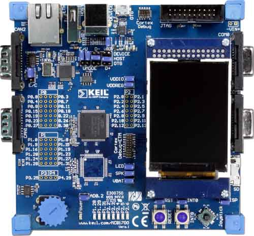 MCB1760 Evaluation Board