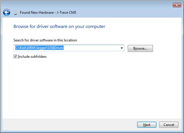 J-Link/J-Trace User's Guide: Install J-Link/J-Trace Driver
