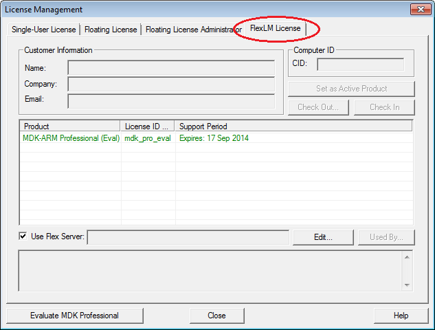 how to set breakpoint keil v5