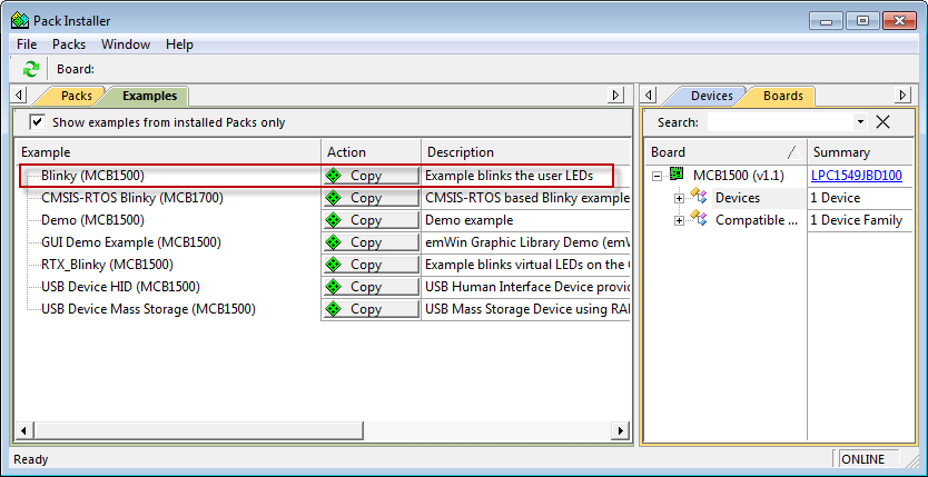 MCB1500 User's Guide: Example Programs
