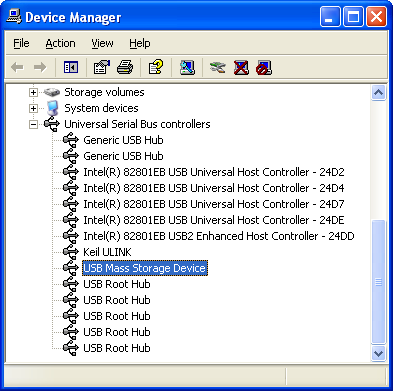 Usb Mass Storage Device Driver Windows Xp