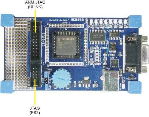 MCB950 User's Guide: JTAG Interface
