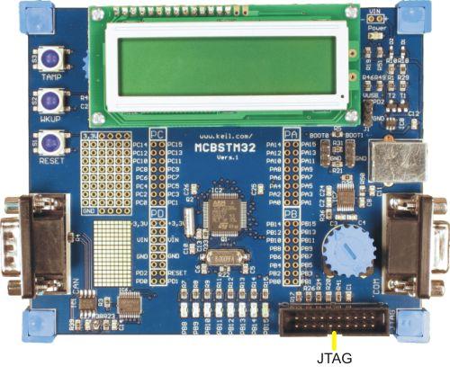 MCBSTM32 User's Guide: JTAG Interface
