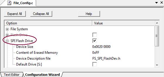 RL-ARM User's Guide (MDK v4): Using SPI Flash Devices
