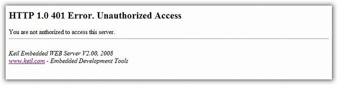 RL-ARM User's Guide (MDK v4): HTTP_demo